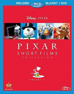 Pixar short films collection. Volume 1 [Blu-ray + DVD combo] cover image