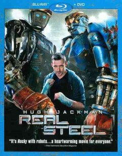 Real steel [Blu-ray + DVD combo] cover image