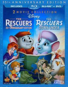 The rescuers cover image
