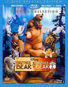 Brother bear [Blu-ray + DVD combo] Brother bear 2 cover image