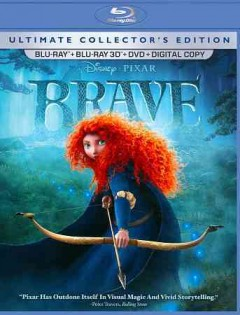 Brave [3D Blu-ray + Blu-ray + DVD combo] cover image