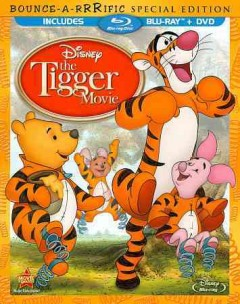 The Tigger movie [Blu-ray + DVD combo] cover image
