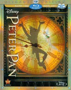 Peter Pan [Blu-ray + DVD combo] cover image