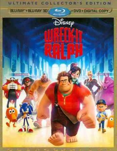 Wreck-It Ralph [3D Blu-ray + Blu-ray + DVD combo] cover image