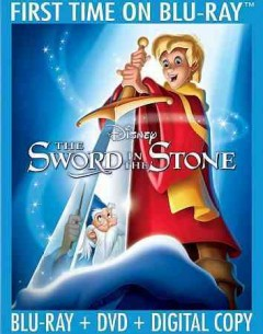 The sword in the stone [Blu-ray + DVD combo] cover image