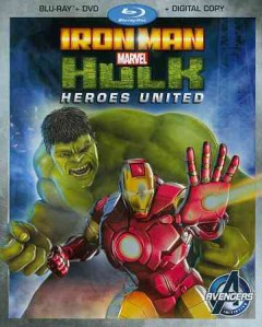 Iron Man and Hulk [Blu-ray + DVD combo] heroes united cover image