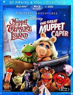 Muppet Treasure Island ; The great Muppet caper [Blu-ray + DVD combo] cover image
