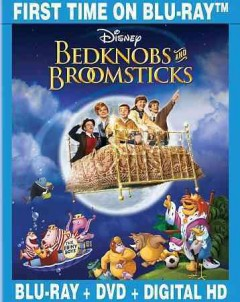 Bedknobs and broomsticks [Blu-ray + DVD combo] cover image