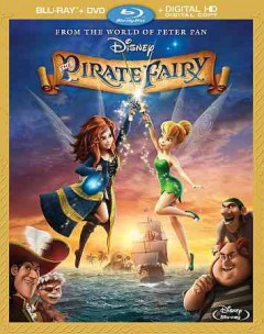 The pirate fairy [Blu-ray + DVD combo] cover image