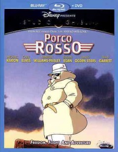 Porco Rosso [Blu-ray + DVD combo] cover image