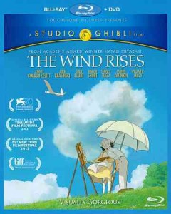 The wind rises [Blu-ray + DVD combo] cover image