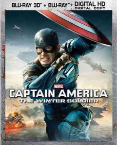 Captain America. The Winter Soldier [3D Blu-ray + Blu-ray combo] cover image