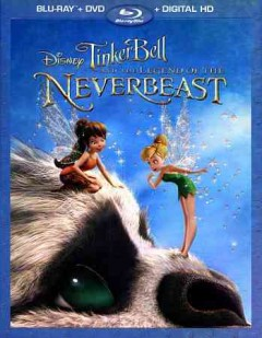 Tinker Bell and the legend of the NeverBeast [Blu-ray + DVD combo] cover image