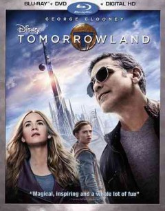 Tomorrowland [Blu-ray + DVD combo] cover image