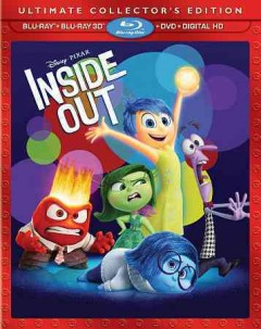 Inside out [3D Blu-ray + Blu-ray + DVD combo] cover image