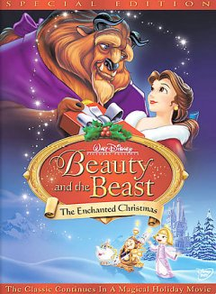Beauty and the beast the enchanted Christmas cover image
