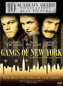 Gangs of New York cover image