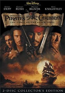 Pirates of the Caribbean the curse of the Black Pearl cover image