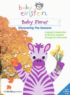 Baby Monet discovering the seasons cover image