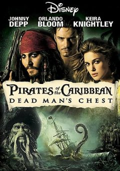 Pirates of the Caribbean. Dead man's chest cover image