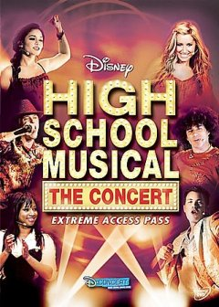 High school musical the concert cover image