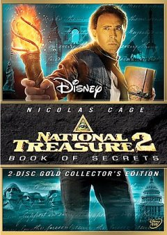 National treasure, book of secrets cover image