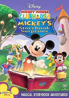 Mickey Mouse Clubhouse. Mickey's storybook surprises cover image