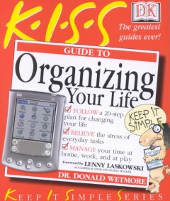 KISS guide to organizing your life cover image