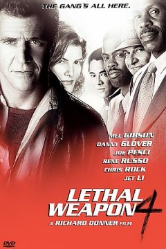 Lethal weapon 4 cover image