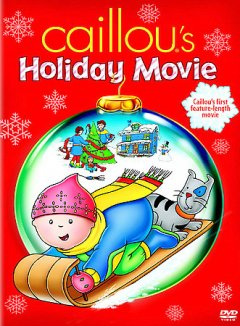 Caillou's holiday movie cover image