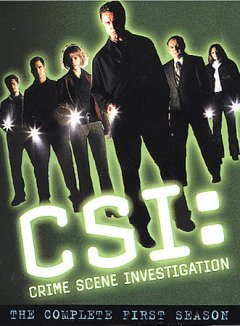 CSI: crime scene investigation. Season 1 cover image