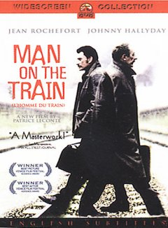 Man on the train cover image