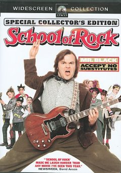 The school of rock cover image