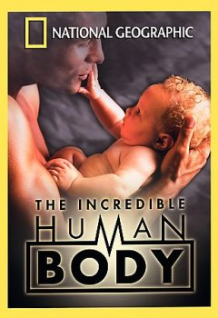 The incredible human body cover image