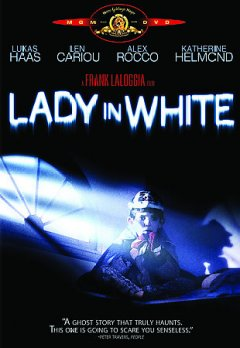 Lady in white cover image