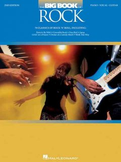 The big book of rock piano, vocal, guitar cover image