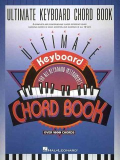 Ultimate keyboard chord book cover image