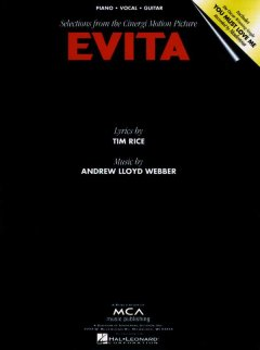 Evita selections from the Cinergi motion picture cover image