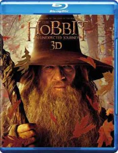 The hobbit [3D Blu-ray + Blu-ray + DVD combo] an unexpected journey cover image