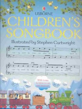 Usborne children's songbook cover image