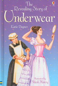 The revealing story of underwear cover image