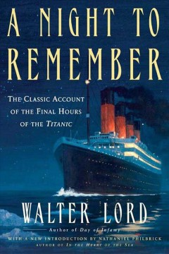 A night to remember cover image