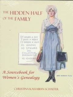 The hidden half of the family : a sourcebook for women's genealogy cover image