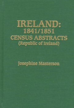 Ireland : 1841/1851 census abstracts (Republic of Ireland) cover image