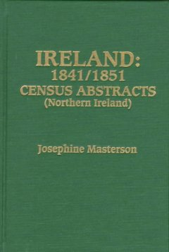 Ireland : 1841/1851 census abstracts (Northern Ireland) cover image