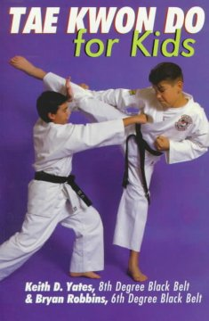 Tae kwon do for kids cover image