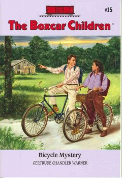Bicycle mystery. cover image