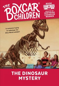 The dinosaur mystery cover image