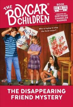 The disappearing friend mystery cover image