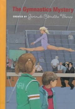 The gymnastics mystery cover image